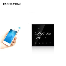 WIFI 16A Thermoregulator Touch Screen Heating Thermostat for Warm Floor Electric Heating System Thermostat цена