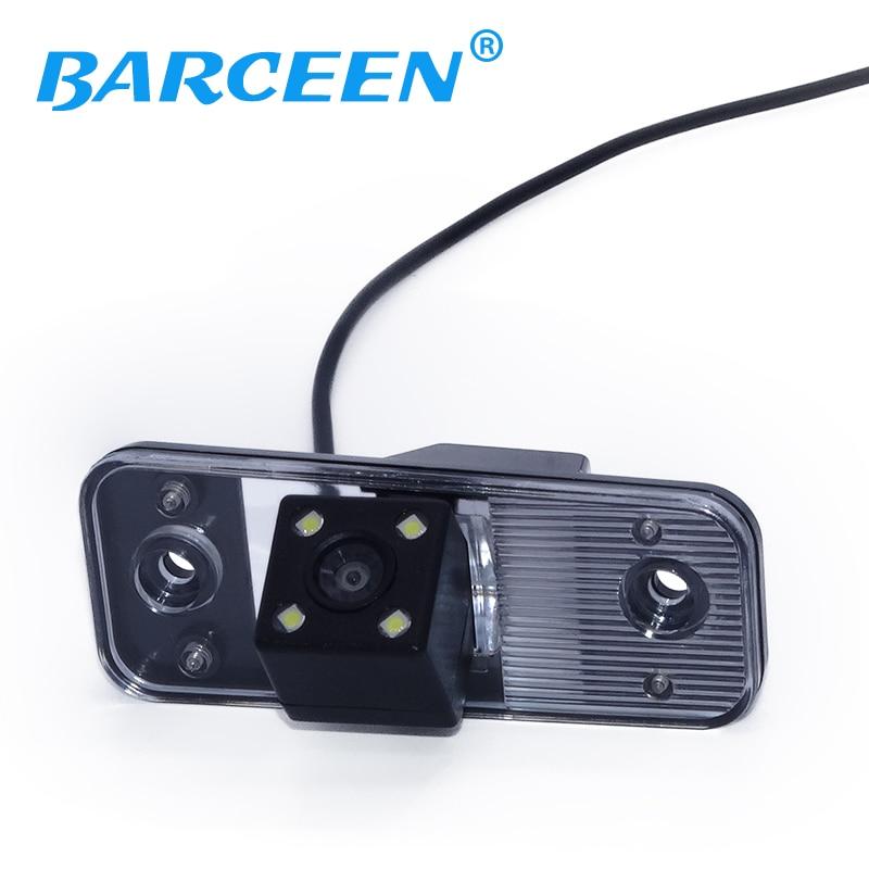 دوربین فیلمبرداری پشتیبان گیرنده CCD HD دوربین پشتیبان در مانیتور عقب دوربین اتومبیل برای Hyundai جدید Santafe / سانتافه / آزرا