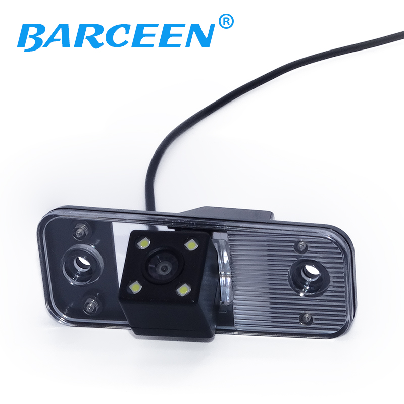 CCD HD Auto Achteruitrijcamera Backup Camera parkeercamera in auto camera achter monitor voor Hyundai nieuwe Santafe / Santa Fe / Azera