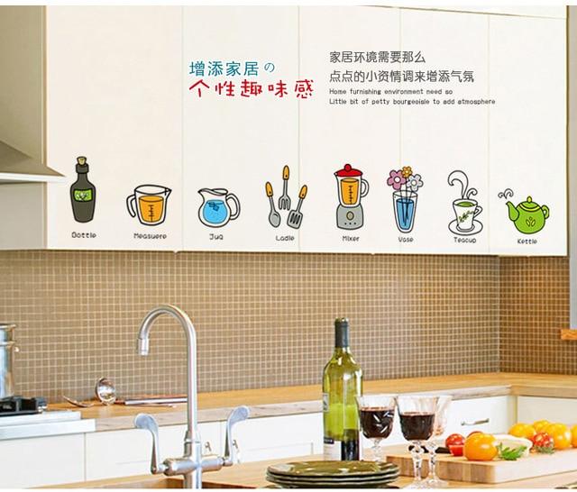 Decorare pareti cucina decorazioni per pareti vintage - Adesivi per piastrelle ...
