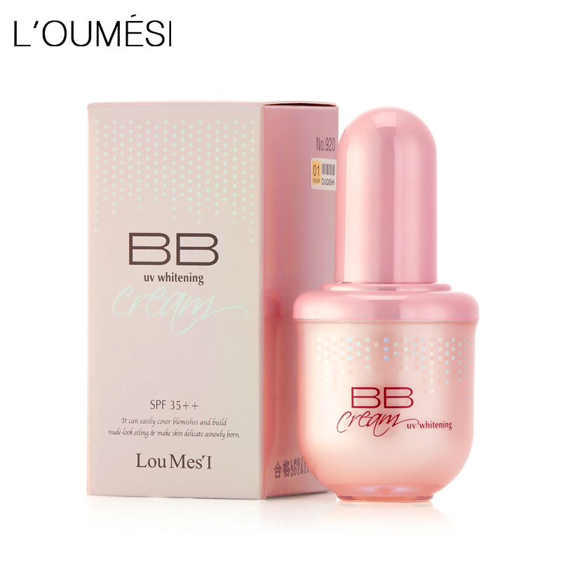 Loumesi hydrating bb cream makeup foundation concealer cream nude makeup natural perfect cover bb cc cream 45ml cc крем для лица sleek makeup sleek makeup cc cream