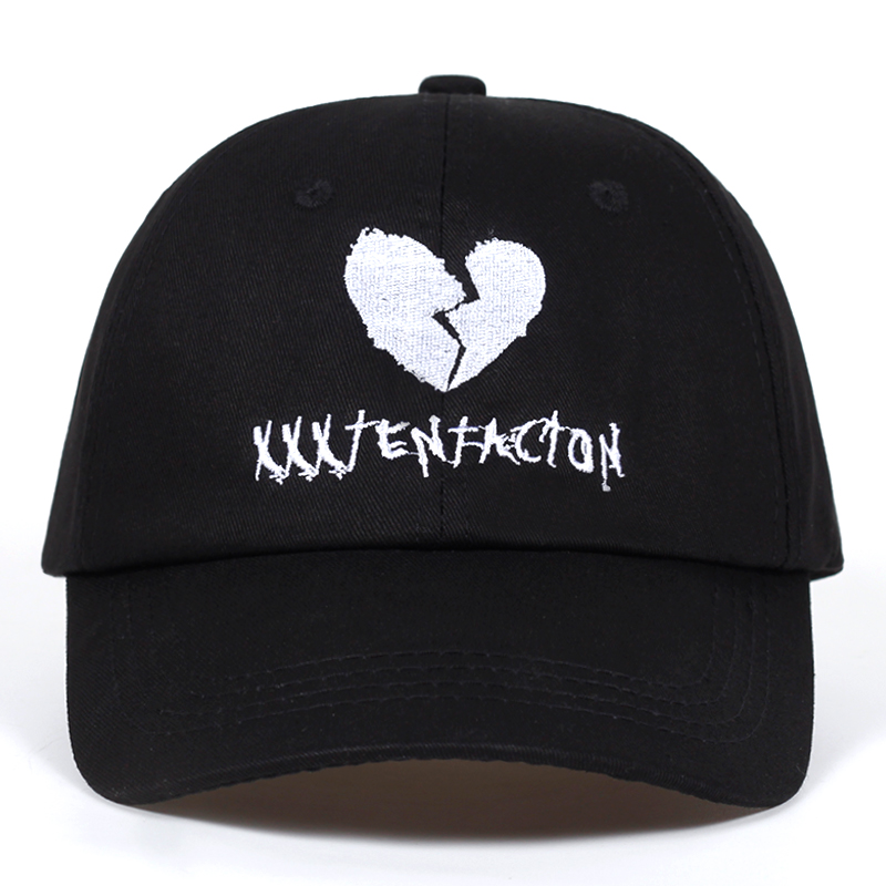 American Rapper xxxtentacion Memorial   Baseball     Cap   Fans Snapback   Caps   Men Swag Black Dad Hat Outdoor Casual Sun Women Bone