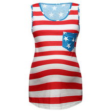 Летний топ для кормящих женщин с принтом американского флага, 4 июля, Повседневная футболка с короткими рукавами, Одежда для беременных, Ropa Embarazada 4JJ