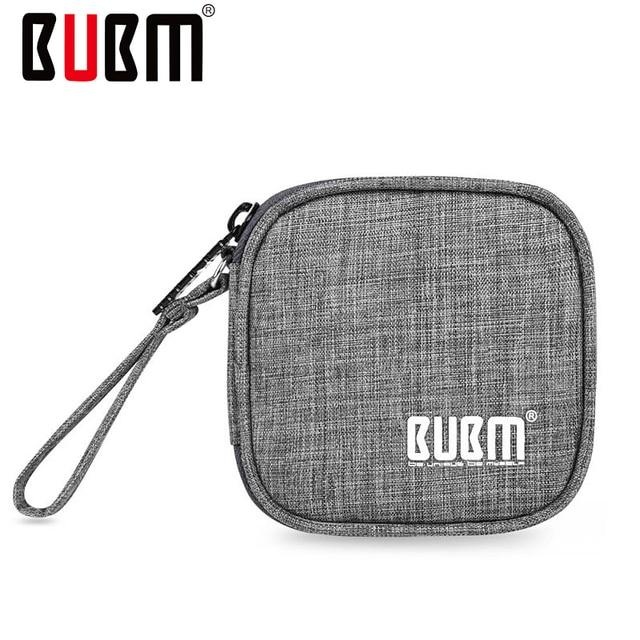 BUBM Saco Pequenos Eletrônicos e Acessórios Fone de Ouvido/Fones de Ouvido/Cabo Mudar Bolsa de Viagem Bolsa Saco de Viagem Maleta