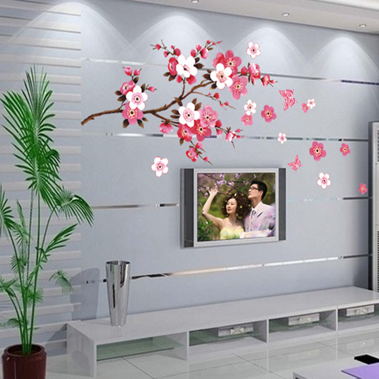 Beautiful Cherry Blossoms Wall Sticker For Living or Bed Room 26