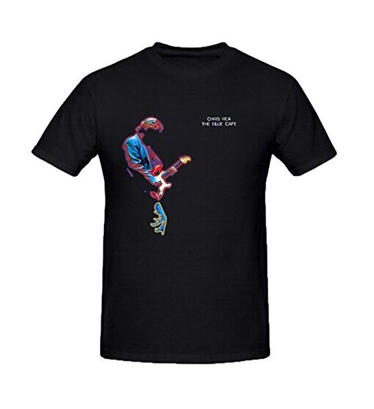 ab5bbd3667 Chris Rea la azul café camisetas hombres 100 algodón cuello redondo hombres  Tops manga corta algodón Fitness camisetas en Camisetas de La ropa de los  ...