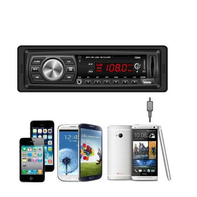 NUEVA Mecall Unidad Principal En El Tablero de Coches de Audio Bluetooth Estéreo MP3/USB/SD/MMC al por mayor Oct21