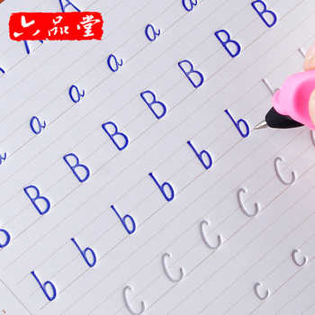 New Arrival 1 pcs English Calligraphy copybook for Kids Children Write Beautiful English Quickly Exercises Calligraphy books - DISCOUNT ITEM  7% OFF All Category