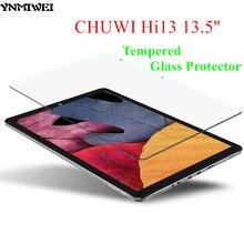 YNMIWEI Hi13 Kính Bảo Vệ 13.5 inch Bảo Vệ Ba Lô Flim cho CHUWI Hi13 Tấm Bảo Vệ Màn Hình 2.5D 0.3 MM Kính Cường Lực Bảo Vệ