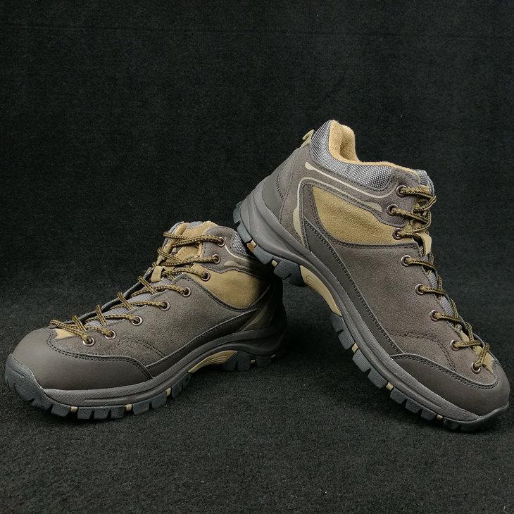 BILU hommes chaussures de marche en plein air hommes en cuir véritable portable imperméable trekking escalade voyage chaussures de marche hommes baskets