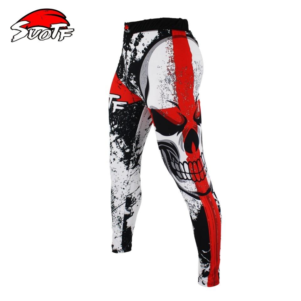 SUOTF MMA Fitness Slim Dry Pants Boxing Fighting Shorts Skulls Skulls Skills Shorts Skirts boxing clothing muay thai boxing shor