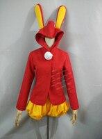 CARD CAPTOR SAKURA cosplay costume Plush rabbit coat And Pant
