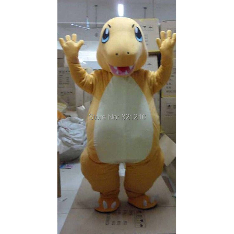 Charmander Pokemon Anime Manga Japanese Video Game Mascot Costume Fancy Dress  for Halloween party event