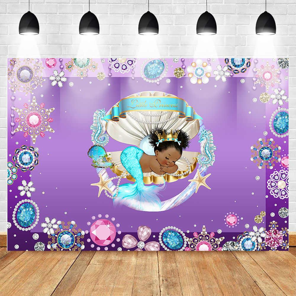 Mermaid Party Decor Mermaid Baby Shower Baby Shower Under the Sea Decor Baby Shower Mermaid Decor Baby Shower Mermaid Decorations