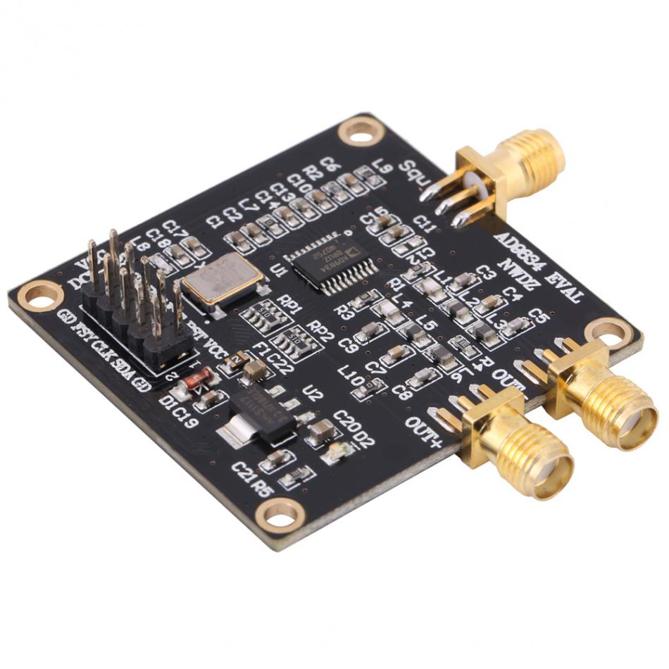 Walfront Signal Generator Module Dds Wave High Precision Frequency Sine Signalprocessing Circuit Triangle Sources Board Meter In Generators From