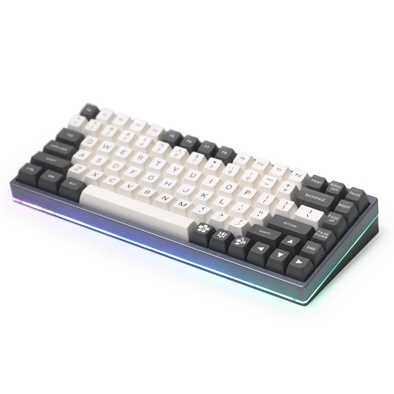 KBDfans KBD75 V2 custom DIY kit without keycaps for mx mechanical keyboard