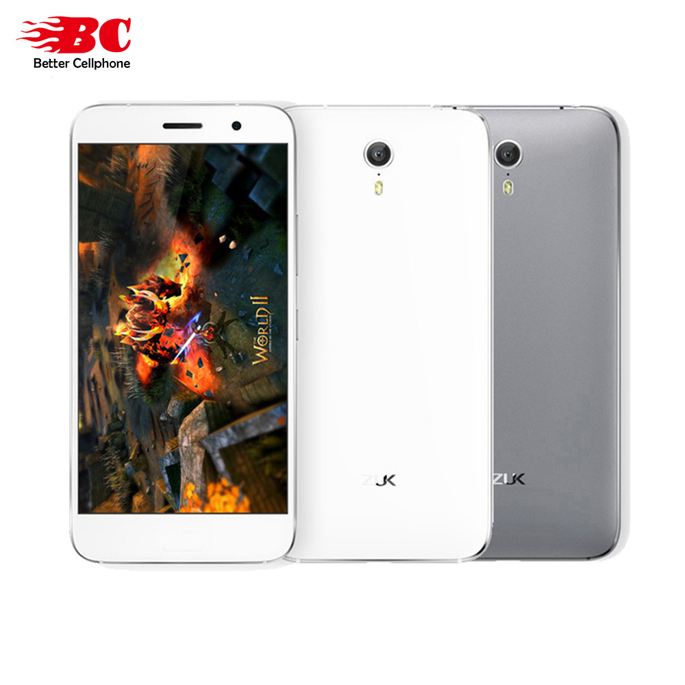 "Original Lenovo ZUK Z1 Z1221 3G RAM 64G ROM Global Version Quad Core Snapdragon 801 LTE 4G 4100mAh 5.5 "" 13.0MP Mobile Phone"