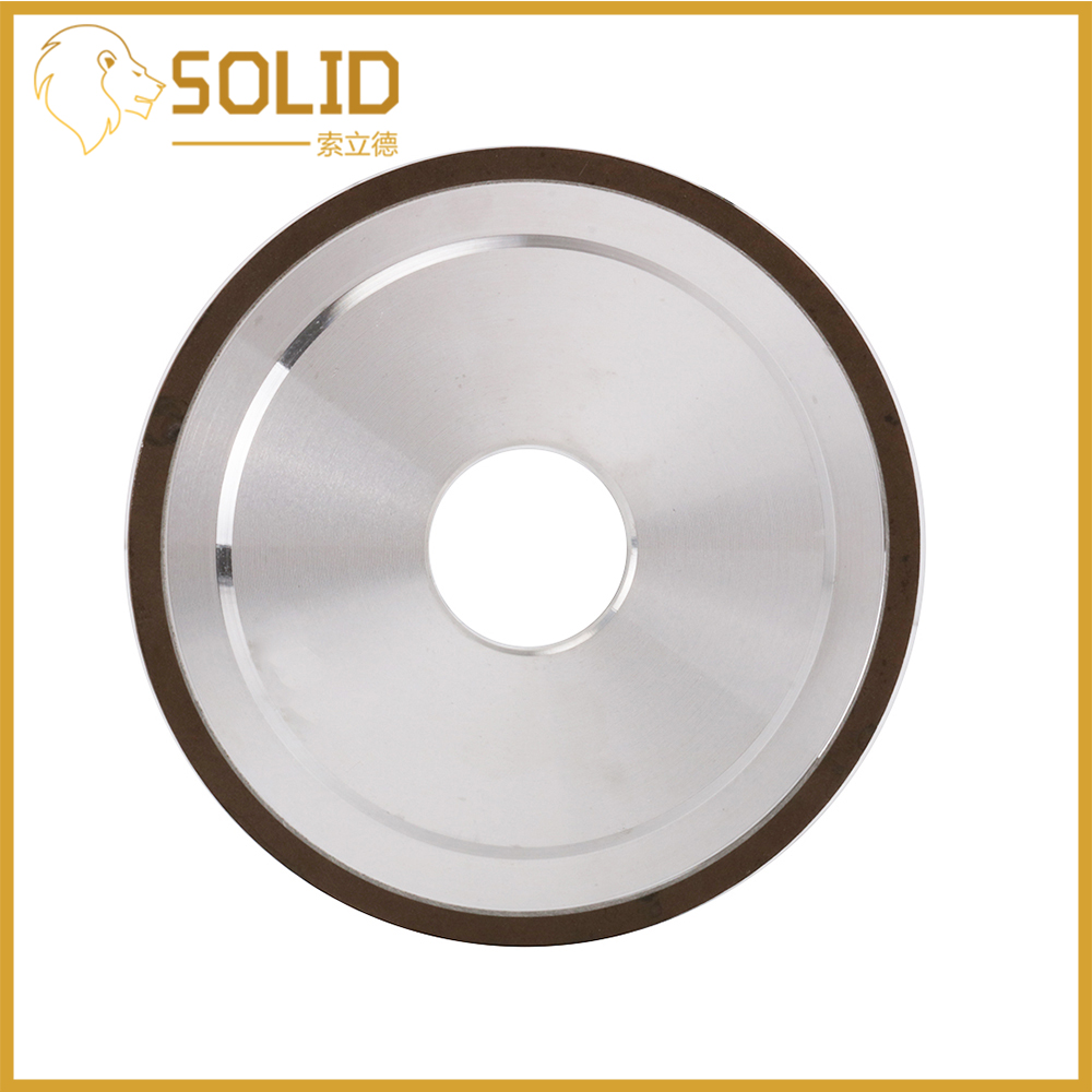 Diamond Grinding Wheel Cutting Disc Resin Bond Grinder For Tungsten Steel Milling Cutter Sharpener 100/125/200mm 240Grit 1Pc