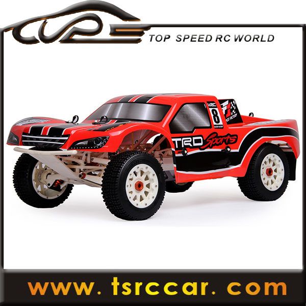 1/5 sales car 29cc RC Rovan Baja 5SC with 2.4G 3 channel controller with LCD screen
