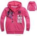 new 2016,spring children clothing,monster fashion girls clothes,baby,kids girl,children hoodies,children outerwear
