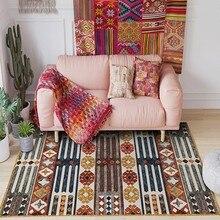 Retro style Kilim living room rug big size Persian pattern printed carpet,vintage home decoration floor mat persian totem printed home decor antiskid rug