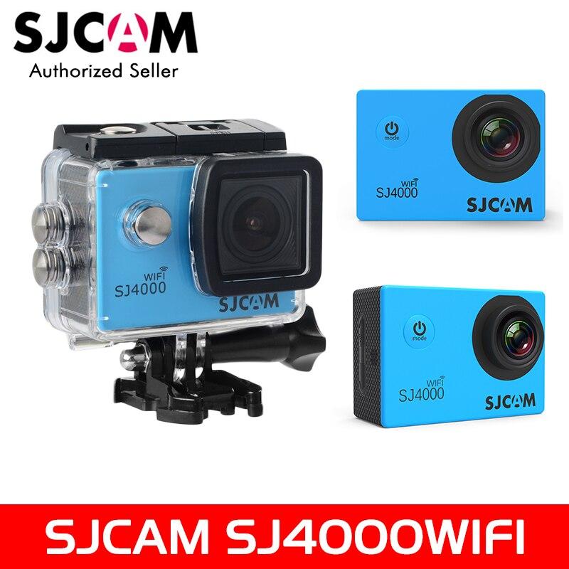 100% D'origine SJCAM 2 ''Écran SJ4000 série SJ4000WIFI 1080 P 30 M Étanche Plongée Action Sports Caméra De Voiture Mini DVR