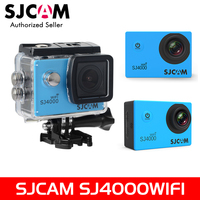 100 Original SJCAM 2 Screen SJ4000 Series SJ4000WIFI 1080P 30M Waterproof Diving Sports Action Camera Car