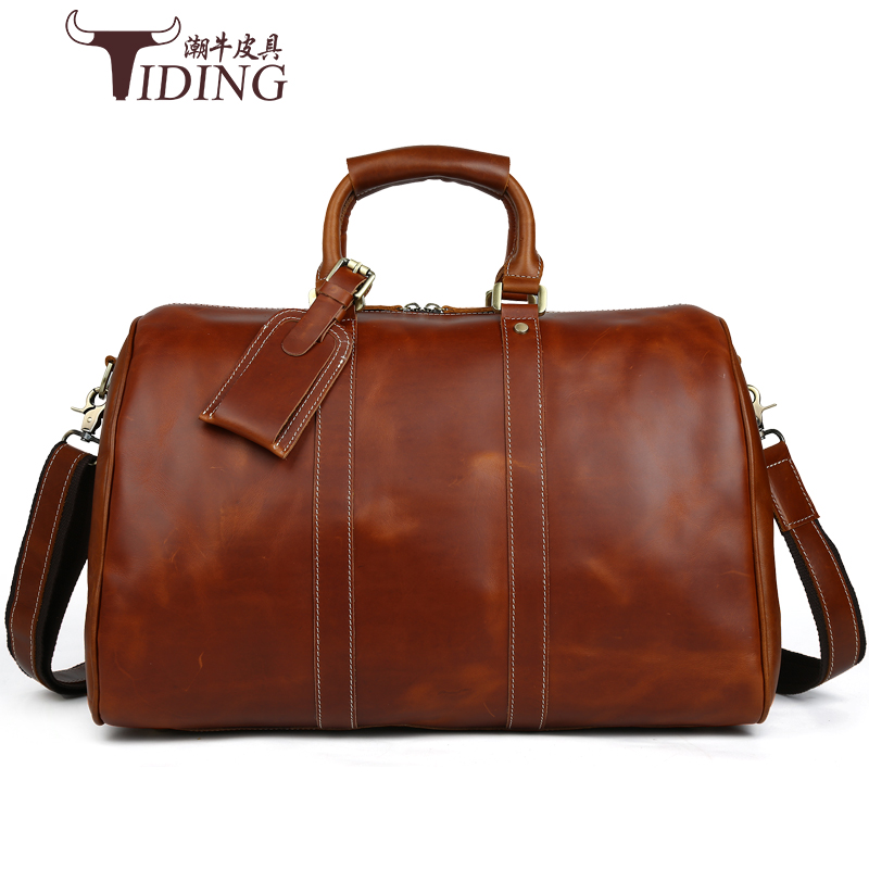 men travel bags genuine leather  large capacity2017  Travel Bag Men Duffle Bag Real leather large shoulder weekend durable bags раскраски свинка пеппа peppa pig раскраски и игры с наклейками