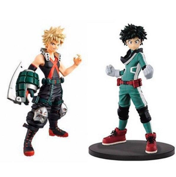 Anime My Hero Academia Boku no Hero Akademia PVC Action Figure Stand Model Toys gift Счастье
