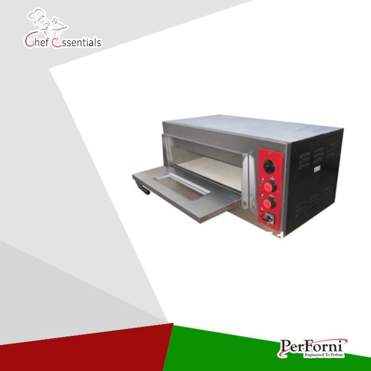 PA02 PERFORNI stainless steel panel single layer electrical pizza ovens for bakery used