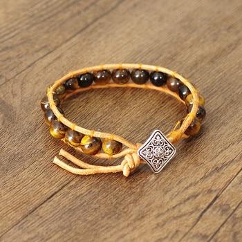 Bracelet Chakra Oeil de Tigre