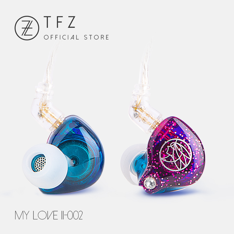 The Fragrant Zither/ MYLOVE II, Hifi Earphone In-ear Bass Headset, TFZ Neckband sport earphone,High Quality Ear phones for Phone qkz kd8 dual driver noise isolating bass in ear hifi earphone for phone wired stereo microphone control headset for music