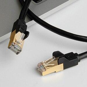 Image 4 - Кабель hagибис Cat7 Ethernet RJ45 кабель Lan Сетевой кабель патч корд для кабеля маршрутизатора ноутбука Ethernet 1/2/3/5/8/10/15/20/30/50 м