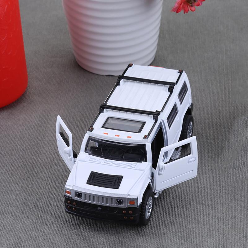 1:32 Alloy Simulation Model Car Kids Off-road Model Toys Pull Back Vehicle Car Model for Kids Collection Gift