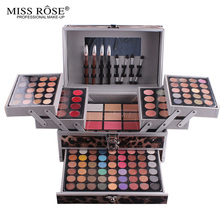Conjuntos De Kit de Maquiagem profissional Caso Completo Pro Makeup Palette eyeshadow Blush Cosméticos highlighter Eyeshadow sobrancelha Blushers