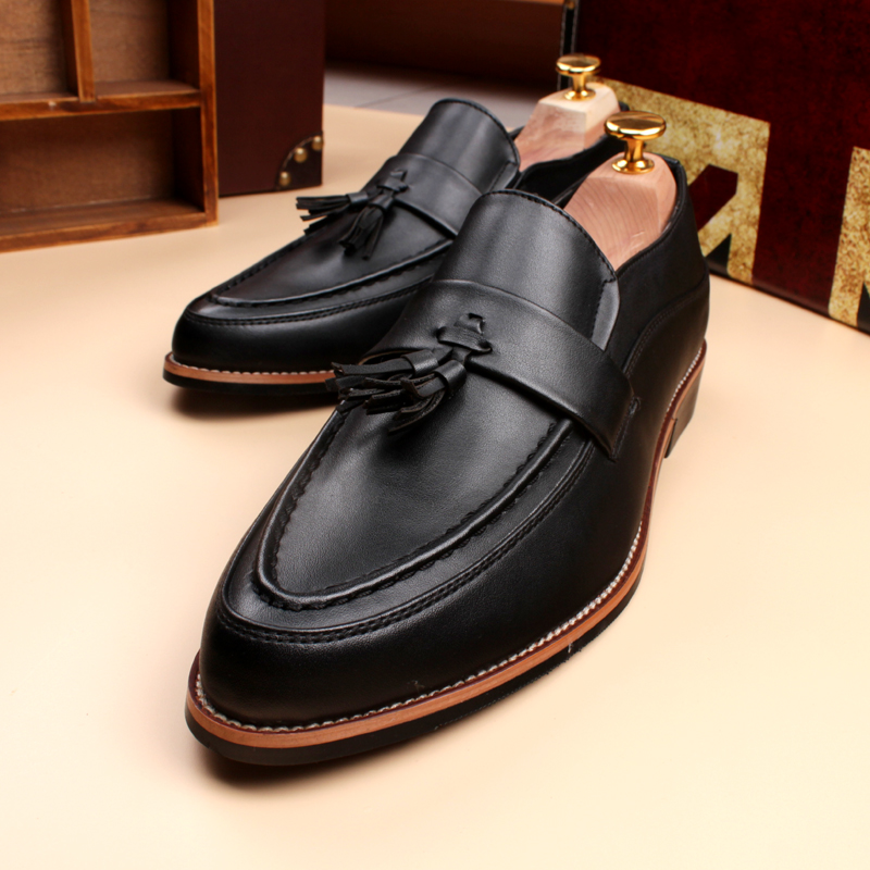 Blazers Elevator: 2017 Hot Mens Shoes Casual Pointed Toe Vintage Autumn