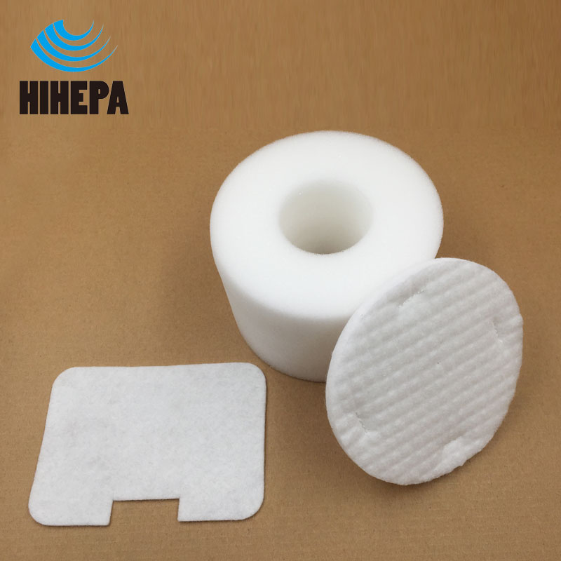 1set Foam & Felt Filter kit Compatible For Shark Navigator Vacuum Cleaner NV36 NV42 Filter Replaces parts model #XFF36