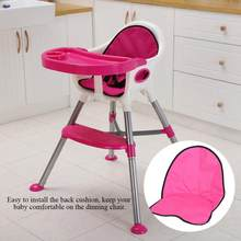 Baby Dining Chair Cushion Baby Dining Chair Seat Comfortable Seat Back Cushion Pad for Dining Chair for Baby Kids Highchair Pad(China)
