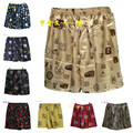 (1PCS/Lot) Silk Boxers Shorts, Men's Silk Sleepwear, Printed Underwear Homewear Men Underpants Size L,XL,XXL Multicolor in stock