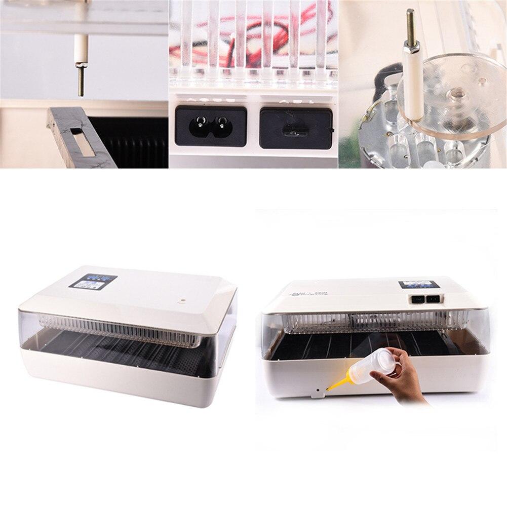 60 яиц автоматический поворотный двойной Запасные Аккумуляторы для телефонов яйцо инкубатор Хэтчер машина для курицы утки голуби перепела