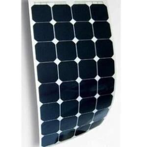 Semi-flexible solar panels with 40 batteries, 120w power, high charging efficiency, large power generation, more durable