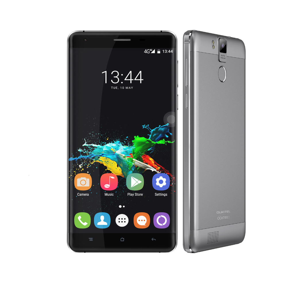 Original k6000 oukitel pro smartphone android 6.0 4g 5.5 \