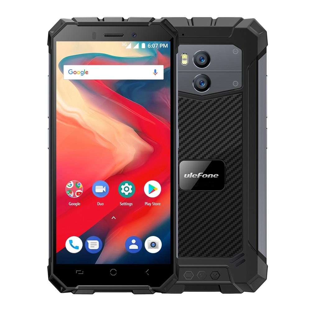 "Ulefone Armor X2 Waterproof IP68 Smartphone 5.5""HD 18:9 MTK6580 Quad Core Android 8.1 2GB+16GB 13MP NFC 5500mAh 3G Mobile Phone"