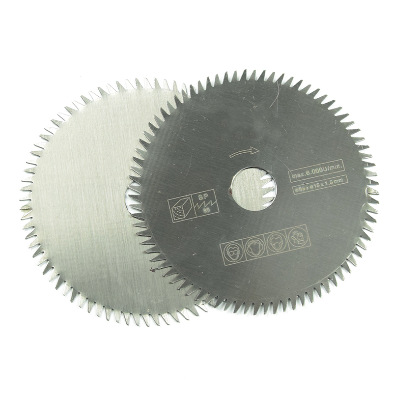 Image 4 - 1pcs 85mm electric HSS mini circular saw mini power saw for wood mini power tools 85*15*1.5 80 tooth-in Saw Blades from Tools