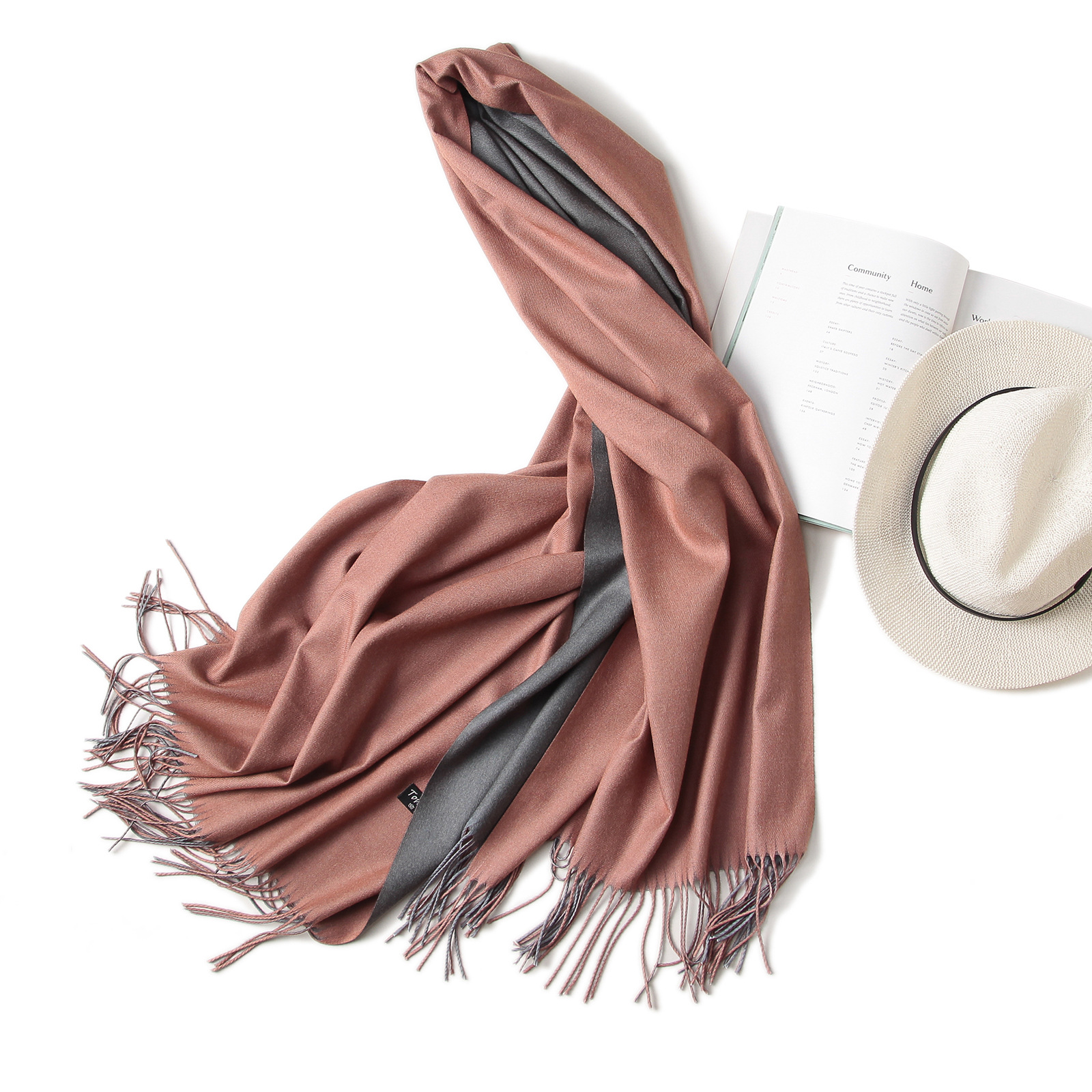 Hot 2018 winter scarf double side