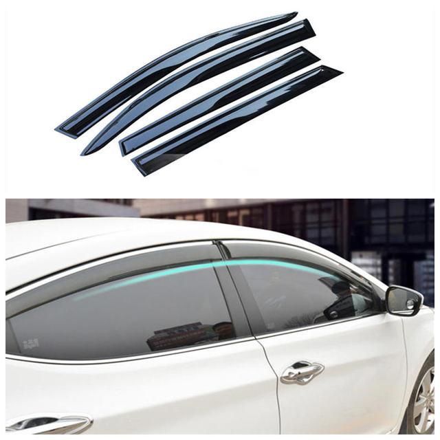 Geely sc7, prestige, sl, ventanilla del coche lluvia ceja, accesorios del coche