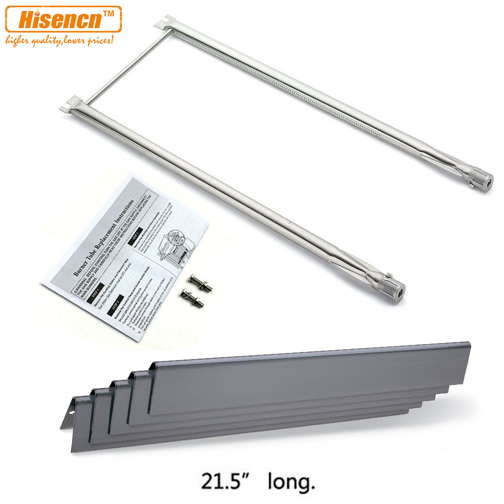 US $62 69 |Hisencn Burner and Heat Plate Replacement Parts For Weber Spirit  500, Spirit 500LX, and Genesis Silver A gas grills (Repair Kit)-in Other