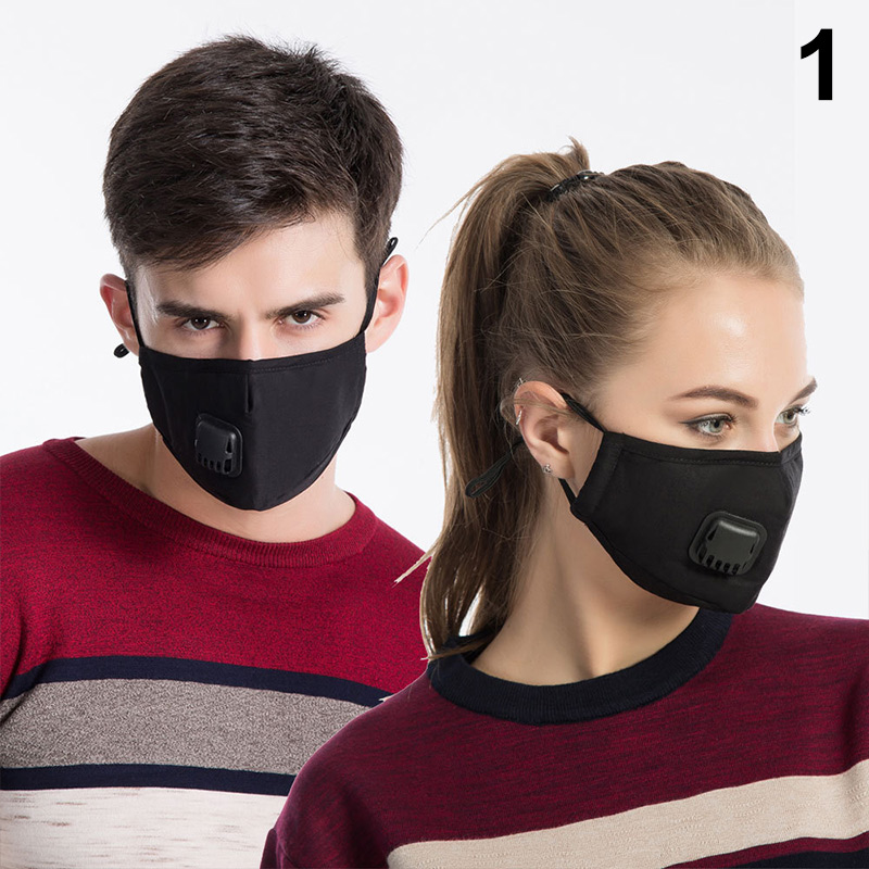 1 Pcs Mouth Face Mask Cotton Dustproof Breathable PM2.5 For Outdoor Cycling Winter JL