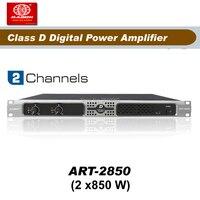 Frete Grátis  ART2850  2 Canais de 850 W de alta potência Classe d amplificador de potência|power amp|power amp class d|power class d -