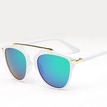 Laura Fairy occhiali da sole uomo Fashion Round Pilot Style Sunglasses Men Women New Brand Designer Acetate Sun Glasses 2017